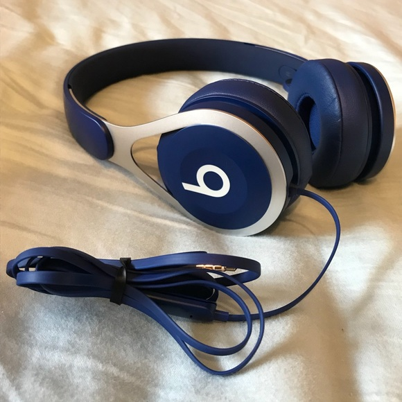 new concept 0523b a5fcc Beats EP Wired On-Ear Headphones - Blue. NWT. Beats by Dre